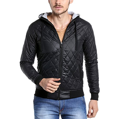 Campus Sutra Men's Quilted Synth...
