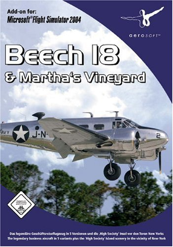 Aerosoft Beech 18 & Martha's Vineyard Add-On for FS 2004 [UK Import]