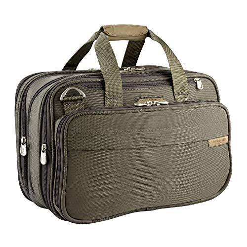 Briggs & Riley Baseline Expandable Cabin Bag, 40.2 litres, Olive Koffer, 42 cm, liters, Grün (Olive) -
