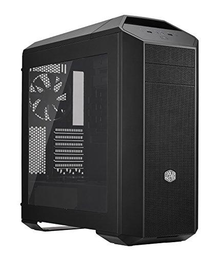 Cooler Master MasterCase Pro 5 PC-Gehäuse 'ATX, micro-ATX, Mini-ITX, USB 3.0, Seitenfenster' MCY-005P-KWN00 (Atx-gehäuse-mid-tower-cooler Master)