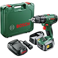 Bosch PSB 1800 LI-2 Cordless Combi Drill with 2 X 2.0Ah Lithium-Ion Batteries