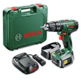 Bosch PSB 1800 LI-2 Cordless Combi Drill with 2 X 2.0Ah Lithium-Ion Batteries