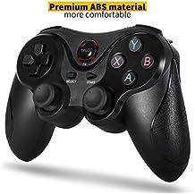 [VERSIÓN ACTUALIZADA]Mando inalámbrico Controller para PS3, mando a distancia Bluetooth Dual Shock Sixaxis para Sony PS3 Playstation 3 con paquete de regalo, regalo de año nuevo para niños y amigos