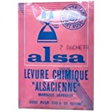 Alsa - French Cake Baking Powder 7 sachets 7x0.4oz by Alsa [Foods] by N/A