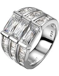 Esprit - ELRG91468A180 - Bague Femme - Argent 925/1000