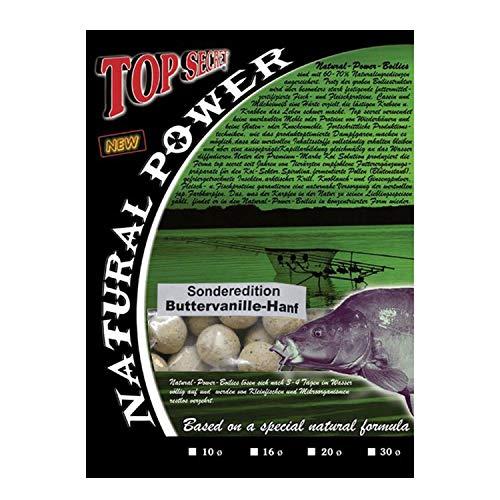 Top SecretNatural Power Boilies Sonderedition 20mm Buttervanille/Hemp
