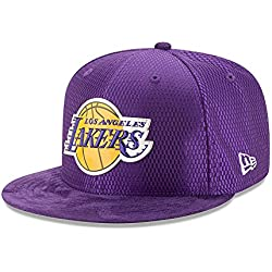 New Era NBA LOS ANGELES LAKERS 2017 Authentic On-Court 9FIFTY Snapback Cap