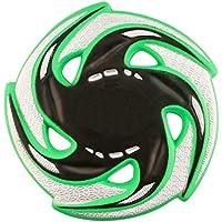 """QPKUNG Fly Disc Ultimate Disco de Disco Volador Soft Ligero Disco de Lanzamiento Juego al Aire Libre Juguetes de Playa para Niños Adultos Mascotas 9"""" Diámetro, 0.5"""" DE Espesor (Verde)"""