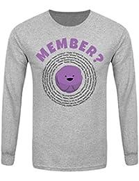 T-Shirt à manches longues Member? Homme Gris