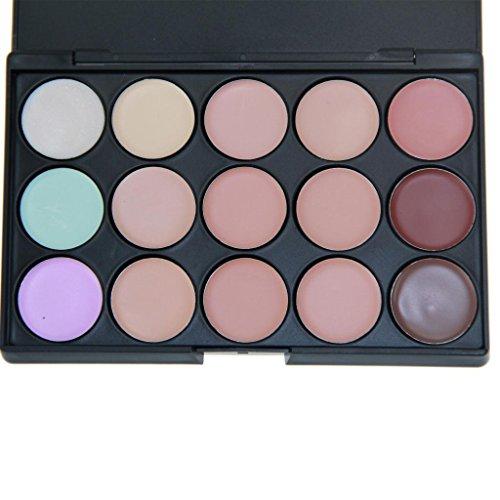 Contever® 15 Couleurs Anti-Cernes / Correcteur Palette de maquillage cosmétique