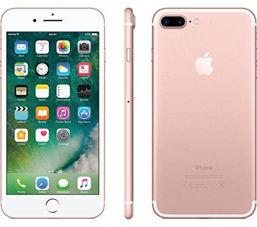 "Apple iPhone 7 - Smartphone con pantalla de 5.5"" (Wi-Fi, Bluetooth, 256 GB, 4G, iOS) color rosa"