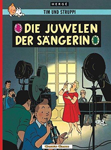 Tim und Struppi, Carlsen Comics, Neuausgabe, Bd.20, Die Juwelen der Sängerin (Tim & Struppi, Band 20) (Juwelen Klassiker)