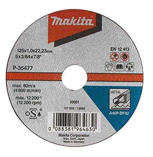 Makita P-35477-10 Trennscheibe 125x1mm Metall