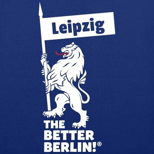 Borsa In Tessuto Leipzig Spreadshirt Blu Royal