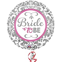 amscan 3212301 Elegant Bride To Be Foil Balloons