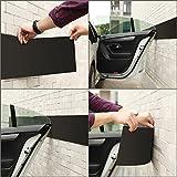 GHB Protection Garage Protection Portiere Protection Voiture Anti Choc pour Garage, 2 bandes, 2m x 20 cm x 3.5 mm par une unité