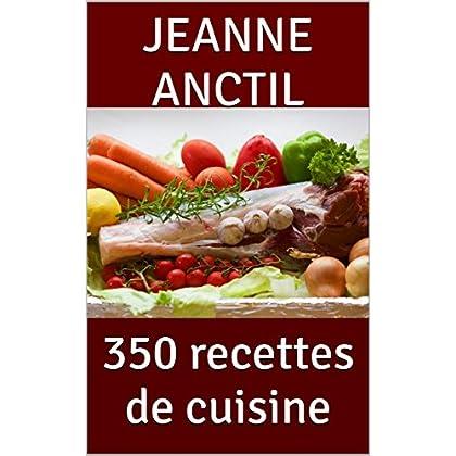 350 recettes de cuisine