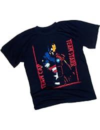Team Cap - Team Stark Divided -- Captain America: Civil War Youth T-Shirt