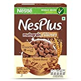 #9: Nestle NesPlus Breakfast Cereal, Multigrain Fillows – Choco-Burst, 500 Grams
