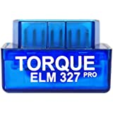Torque Pro Elm 327 [ Android ONLY [ V1.5 ] OBDII OBD 2 Bluetooth Fault Code Reader - Track Recorder Camera Accessory