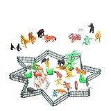 TOYMYTOY Animali da Fattoria Giocattoli Educativi per Bambini 32 Pezzi