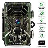 FLAGPOWER Wildkamera Fotofalle 16MP 1080P Full HD Jagdkamera 120°Weitwinkel 20m Nachtsichtkamera mit Bewegungsmelder IP66 Wasserdicht Überwachungskamera für Wildtierjagd Heimsicherheit 2.4'LCD MEHRWEG