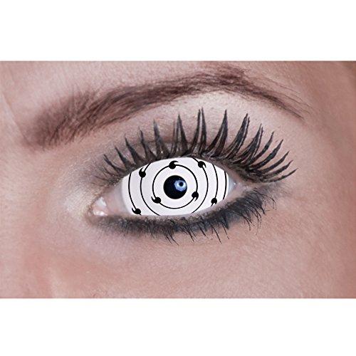 Eyecatcher Sclera Fun - Farbige Kontaktlinsen diameter 22 mm - rinnegan - 2 Stück (1 Paar)