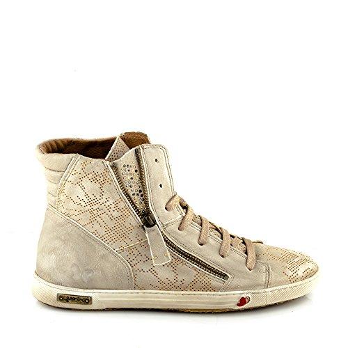 Felmini - Damen Schuhe - Verlieben Jomar 9204 - Sneakers - Echtes Leder - Beige Beige