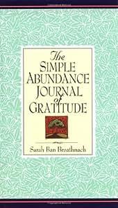 Simple Abundance Journal of Gratitude