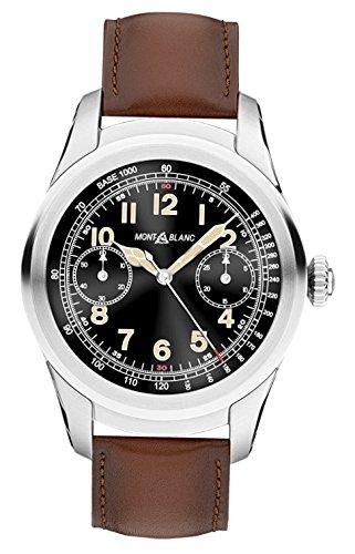 MontBlanc Summit Smartwatch Titanio Pelle