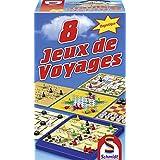 Schmidt - 49102 - Malette de Jeu - 8 Jeux de Voyage