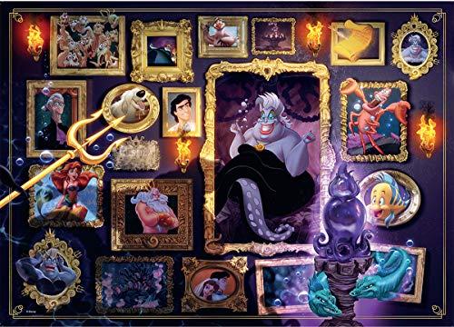 Disney Ursula - Ravensburger Italy- Ursula Disney Puzzle 1000