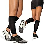 "Calf Leg Compression Sleeves by Modetro Sports -Shin Splints, Circulation & Leg Cramp Compression Support Sleeve - Running, Jogging, Cycling, Fitness & Exercise Enhanced Performance - Men & Women () (Medium / 12.5""-15"")"