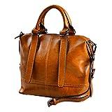 Zhuhaijq Damentasche PU Leder Schultertasche Umhängetaschen Große Designer Damen Handtasche