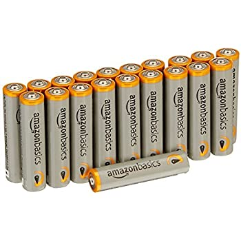 AmazonBasics AAA Performance Alkaline Batteries (20-Pack) - Packaging May Vary