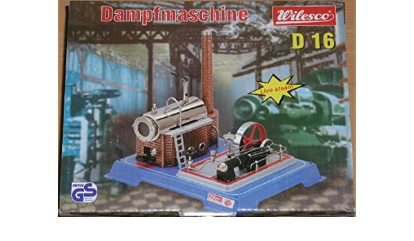 D 16 Wilesco 00016 Dampfmaschine
