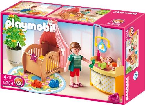 Playmobil 5334 - Zauberhaftes Babyzimmer (Playmobil Kinderzimmer)