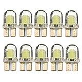 Tinksky 10pz LED Lampadine T10 12V 5W Luci per Auto (Luce Bianca)