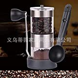 Censhaorme Manual de la Amoladora de café de cerámica Ajustable Piedra de Molino de café Molino de café Molino de Oficina Inicio Viajar Molino de café Rectificadora