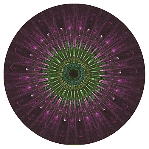 1Rundes Mauspad, Persönlichkeit Planet Muster Desktop Laptop Maus Pad 310x 310x 3mm, Stil 5, 31x31x0.3cm