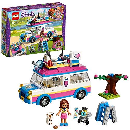 Lego friends il veicolo delle missioni di olivia, multicolore, 41333