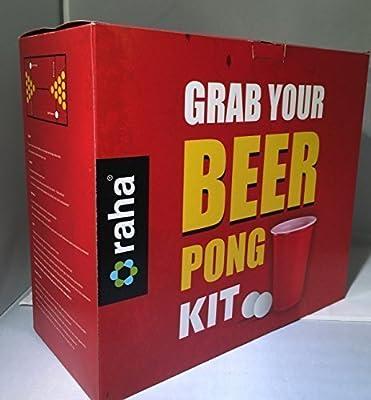 28 Pièce Beer Pong Ultimate Tournoi Kit Verres & Balles Adultes Boisson Ensemble De Jeux