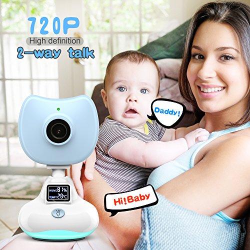Kamera Baby, misafes Sicherheit Wireless Baby Monitor mit Luftqualität Überwachung von Temperatur