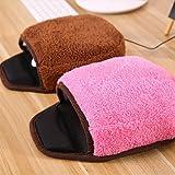 CWAIXX USB Warmen Maus Pad Hand wärmer Maus Pad Handgelenk wärmere Heizung beheizt Maus Pad Hand wärmer Handschuhe, Rosa - 3