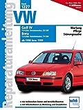VW Golf IV / Bora: Benziner ab 1998 bzw. 1999 (Reparaturanleitungen)