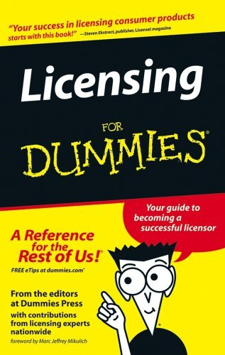 licensing-for-dummies-for-dummies-s-by-tere-stouffer-drenth-2005-05-20