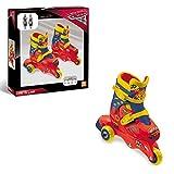 Mondo Toys-Cars 3-3 in Line Skates-Pattini Doppia Funzione Regolabili-Ruote PVC-Roller Bambina-Size S/Mis. 29/32-28065, 28065