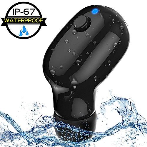Preisvergleich Produktbild FUKTSYSM Neueste Bluetooth Kopfhörer - Bluetooth Kopfhörer Super stark Wasserdicht IPX7,  6-Stunden Spielzeit Handy Bluetooth Ohrhörer für iPhone Samsung Android (Ein Stück)