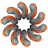 Cobra AMP Golf Iron head Covers 10pcs/set Grey/Orange MT/cb01