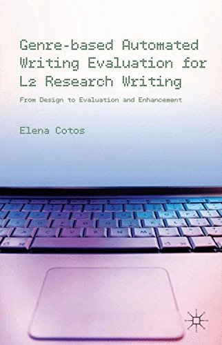 Genre-based Automated Writing Evaluation for L2 Research Writing